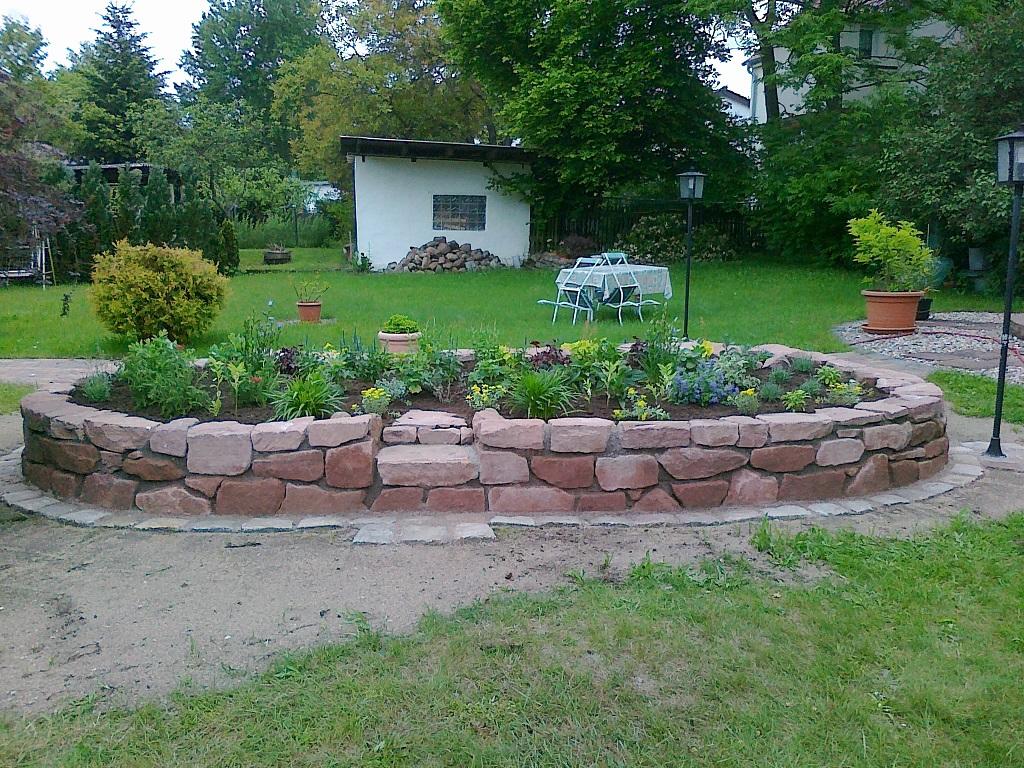 Mauern Und Hochbeete Gartnerei Bruchmuller